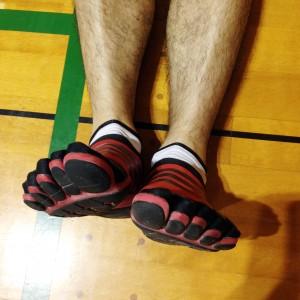 左脚が長い例です!