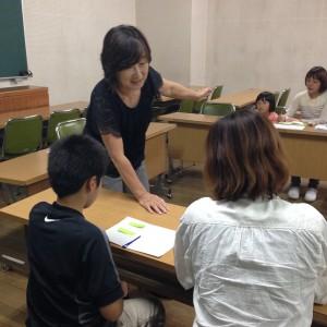参加者に芙沙子さんが常に寄り添っていたのが印象的でした